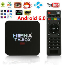 Smart TV BOX Internet TV 4K HD Quad Core Android 6.0 Media Player Mini PC 1G+8GB
