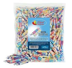 Sweet Tarts Candy Bulk - Wonka Sweetarts Twist Wrap Candies Party Bag Family