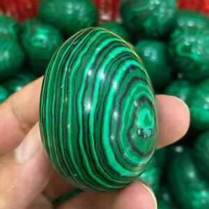 1PCS-Melting Stone Malachite Quartz  Dragon Egg Reiki Healing CollectIion