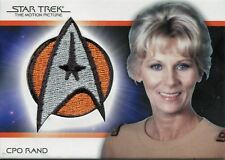 Star Trek Quotable Movies TMP Bridge Crew Patch Card [/250] PC9