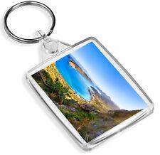1 x Spinalonga Crete Greece Sun Reflecting - Keyring - IP02 - Mum Dad Gift#3334