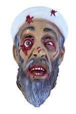 Zombie Osama Bin Laden Rubber Mask Scary Zombie Halloween Fancy Dress