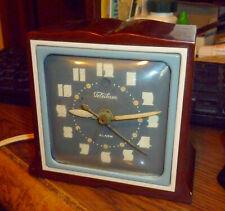 Telechron 7H101 Imp Catalin Art Deco Vintage Clock Bakelite  Swirl