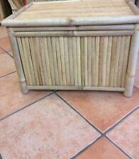 Bambustruhe - Bambuskiste - 65cm x48cm - handgefertigt -