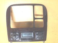 00-06 Mercedes S500 S430 AC A/C Temp Heater Climate Control Panel Bezel Trim