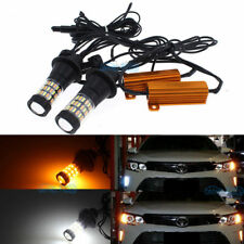2Pcs Switchback LED Bulbs For 2017 Toyota Camry Front Turn Signal Lights or DRL