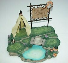 Friends of the Feather Enesco 1994 Spe 270 Diorama Stand Display