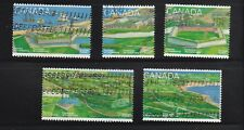 """Canada  # 1547 - 51   1995 """" Fortress of Louisbourg """"  Used Set of 5"""