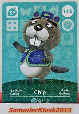 Chip No. 116-SP especial-amiibo walker Animal Crossing serie 2