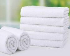 60 new white 20x40 cotton absorbent hotel bath towels riegal selects