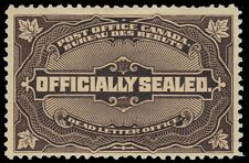 "CANADA OX4 - Official Sealed ""Dead Letter Office"" (pa57372) $200"