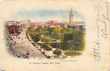 Vintage 1907 Postcard Madison Square, New York USA, United States A76