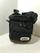 Domiso Travel Camera Bag,Padded Soft-Siding, Divided Inside, Outer Zipper Pouch