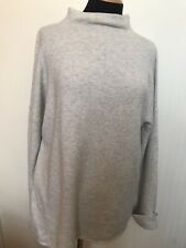 WOMENS PAUL COSTELLOE HIGH NECK SOFT JUMPER PULLOVER TOP SIZE UK 14 (L) US10