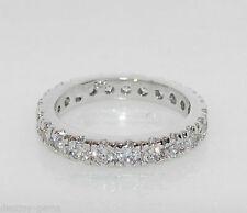 Diamond White Gold Simulated Costume Rings