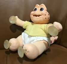VINTAGE SINCLAIR THE BABY DISNEY'S DINOSAURS PLUSH SOFT WINDOW SUCTION FIGURE!!!