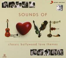 SOUNDS OF BOLLYWOOD CLASSIC INSTRUMENTAL LOVE THEMES 2 CD SET