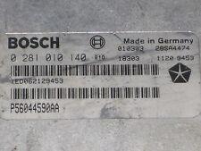 Jeep Grand Cherokee WJ 1999 2000 2001 2002 2003 2004 3.1 TD bosch ECU 0281010140