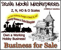 BUSINESS FOR SALE: Scale Model Masterpieces (Thomas A Yorke Ent) & Cal Freight