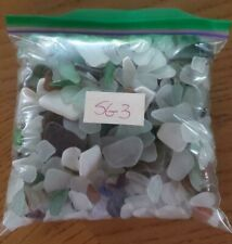 Genuine Surf Tumbled Sea Glass 2lbs OVER 600 Pieces Puerto Rico #SG3