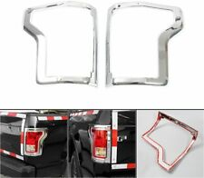For 2015-2017 Ford F-150 F150 Chrome Taillight Tail Lamp Covers Bezel Trims