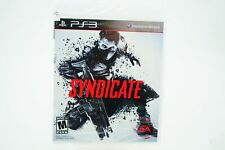 Syndicate: Playstation 3 [Brand New] PS3