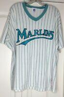 Vintage 90s Marlins T Shirt Size XXL