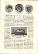1902 Miss Molly Moore Rosie Edwardes Muriel Ashwynne Maesmore Morris