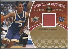 Brandon Roy 2010 Upper Deck World Of Sports All-Sport Apparel Card # ASA4