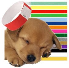 Tag Collars Puppy Whelping ID Collar Band For Puppies Tagging Bands
