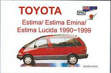 Toyota Estima / Emina / Lucida Handbook (1990-1999) by JPNZ International Ltd