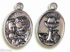 HOLY FAMILY Virgin Mary Saint St Joseph Baby Jesus Christ Eucharist Prayer charm