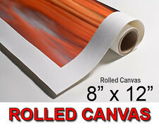 """YOUR OWN PHOTO, PICTURE, IMAGE ON TO A ROLLED CANVAS PRINT - A4 SIZE 8""""x12"""""""