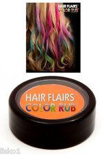 Hair Flairs Color Rub Temporary Vibrant Fun Hair Colors .14 oz. (orange) LMS