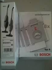 scopa bosch siemens TYPE S sacchetti BHZ4AF1 / VZ92S40 confezione 8 sacchetti