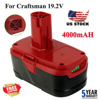 4.0Ah 19.2V C3 XCP Li-Ion Replacement Battery For Craftsman 11375 130211004 New