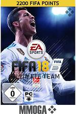FIFA 18 - 2200 FUT Points - EA Origin Code - 2,200 Nur für PC Version Key DE/EU