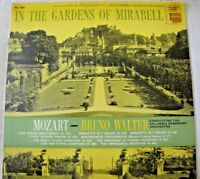 IN THE GARDENS OF MIRABELL MOZART BRUNO WALTER VINYL LP ALBUM 1956 COLUMBIA MONO