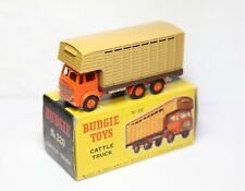 Budgie 220 Leyland Hippo Cattle Truck In Its Original Box - Near Mint Vintage
