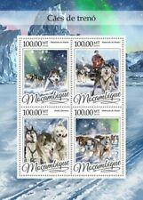 Mozambique - 2016 Sledge Dogs - 4 Stamp Sheet - MOZ16321a