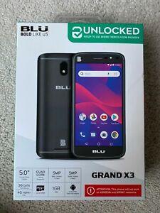 BLU GRAND X3 UNLOCKED WORLDWIDE Smart Phone
