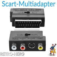 Scart Adapter TV AV für Nintendo Gamecube, N64, N 64, Xbox Super Nintendo SNES