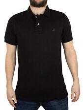 Camicie casual e maglie da uomo nero denim