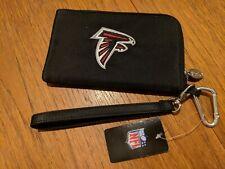 "Atlanta Falcons Touchscreen Smartphone Wallet w Clip & Strap NFL New 6.5""x4"""