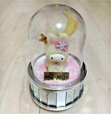 "Hello Kitty Music Box  5"" Ornament Rabbit costume Hokkaido Snow Cute Moon"