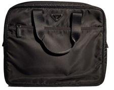 Prada Notebook-Tasche Nylon schwarz