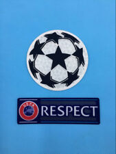 UCL UEFA Champions League Respect Star Ball Patch Badge Parche Flicken -S-0003