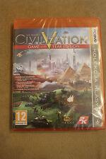 Civilization V GOTY Edition PC DVD PL/ENG STEAM Polish New Sealed Polska