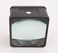 "3"" Square Dual Glass Projector Lens (D2L) Steampunk Quality Vintage Item"