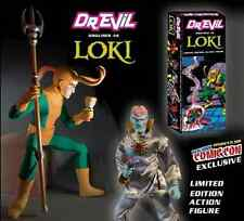 DR EVIL AS LOKI RARE LIMITED EDITION NYCC ACTION FIGURE CAPTAIN BRAND NEW IN BOX